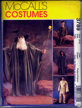 Mc Call's 3789 Star Wars Witch Wizard Costumes Kids 3-4 5-6 7-8 New - $48.00