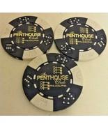 3 Penthouse Gentleman's Club Philadelphia PA Rare Chips - $14.95