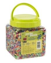 Perler Beads Assorted Multicolor Fuse Beads for Kids Crafts, 11000 pcs - $21.52