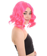 Fortnite Calamity Wig | Pink Video Game Wigs | Premium Breathable Caples... - $26.85