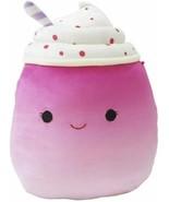 Official KellyToy Squishmallows 8 inch Cinnamon The Frozen Yogurt Food S... - $25.73