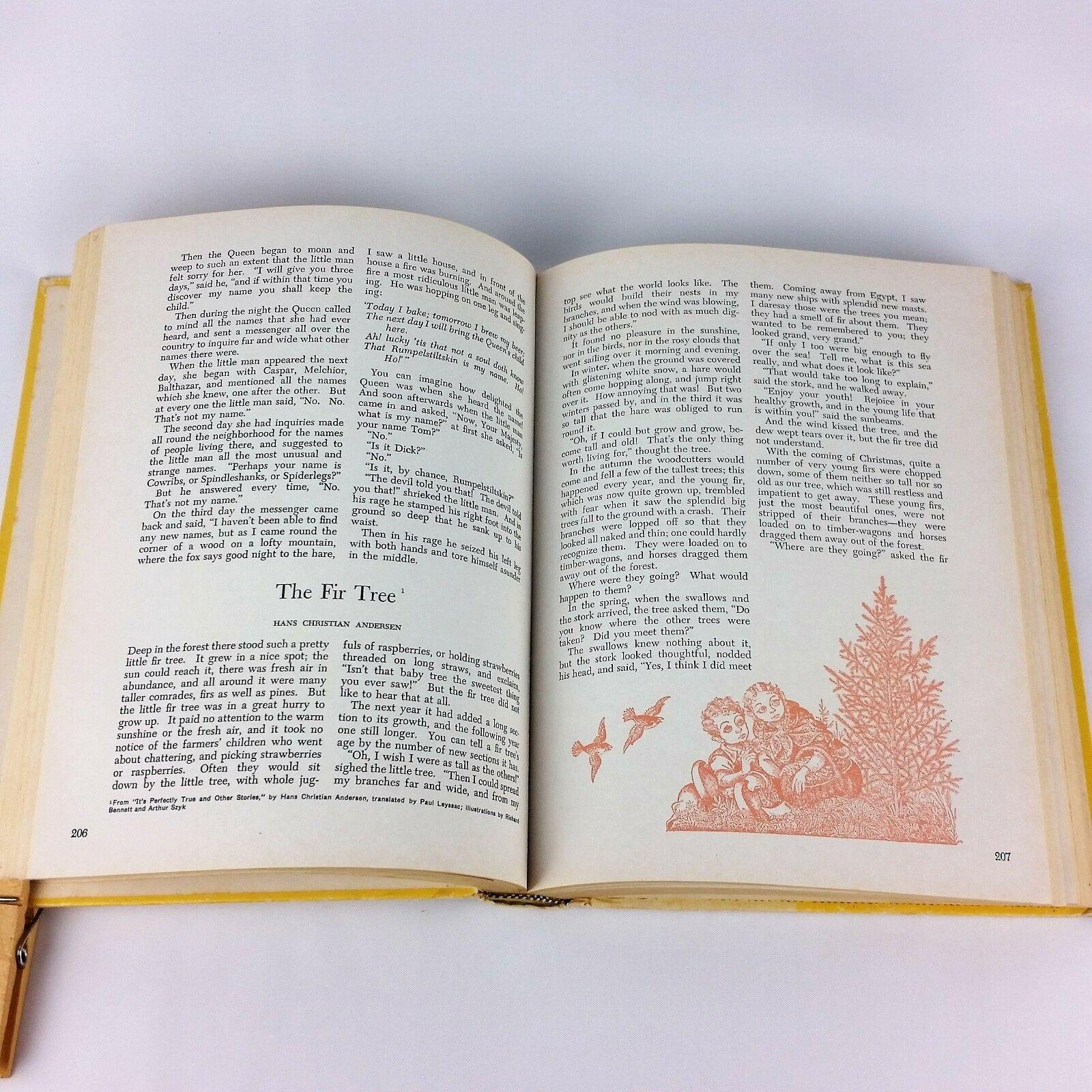 The Illustrated Treasury of Childrens Literature 1955 Vintage Book HC Martignoni