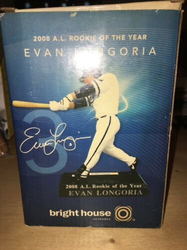 Primary image for New Evan Longoria 2008 American League ROOKIE of the YEAR Figure Statue On Stand