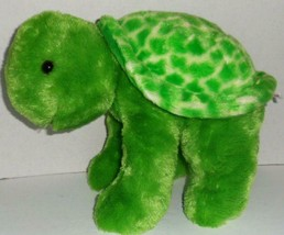 "AURORA WORLD 2017 GREEN TURTLE 13"" PLUSH STUFFED ANIMAL DOLL TOY - $12.99"