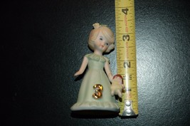 Growing up Birthday Girl Age 3  decorative collectible doll enesco - $8.00