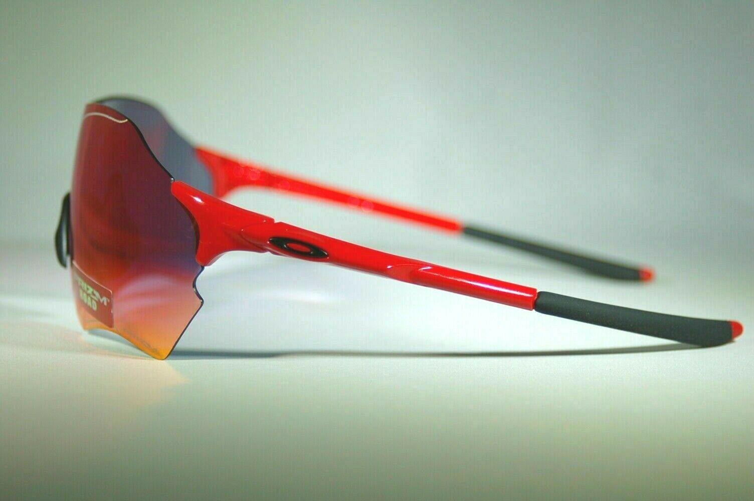Oakley EVZero Range Sunglasses OO9327-04 Infrared Red Frame W/ Prizm Road Lens