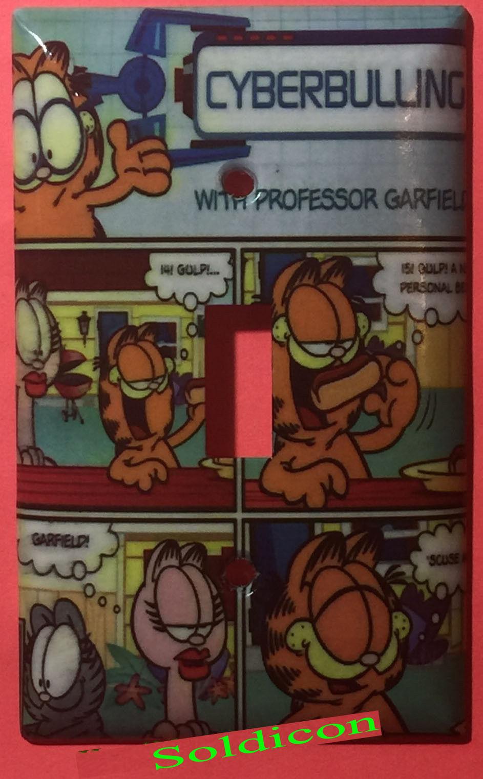 Garfield cat comics toggle single