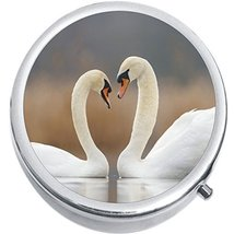 Swans Medicine Vitamin Compact Pill Box - $9.78