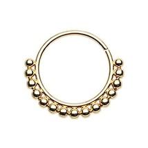 Bali Ball Steel Freedom Fashion Nose Hoop Ring Sold Individually 20 GA, ... - $11.36