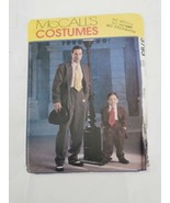 McCalls Pattern 3793 Zoot Suit Gangster 1940s Mens S M L XL  Boys 3 to 8... - $27.95