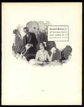 Nurse Candlestick Telephone August Bleser Commercial Artist 1926 Ad - $14.99