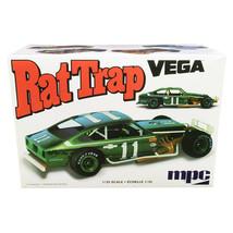 Skill 2 Model Kit Chevrolet Vega Modified Rat Trap 1/25 Scale Model by M... - $44.54