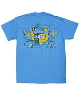 Men's Officially Licensed Old Bay Ripped Crab T-Shirt (X-Large, Heather ... - $19.81
