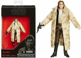 Star Wars The Black Series Han Solo 3 3/4 Inch Action Figure NIB - $12.81