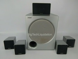 Sony SS-WMSP80 Subwoofer w/ 5 Sets of Speakers SS-CNP67 SS-MSP67 - $61.70
