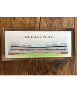 PAPERWEIGHT WRIGLEY FIELD  CHICAGO CUBS Mint Champions vtg Rare lucite - $23.74