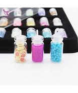 48 Bottles DIY 3D Crystal Nail Art Powder Sequins Glitter Manicure Tips ... - $10.91