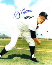 Jim Bouton signed New York Yankees 8x10 Photo (grass background) - $15.00
