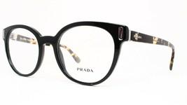 New PRADA Eyeglasses Frame VPR 06T 1AB-101 Havana Black Stripe 52-20-135... - $73.66