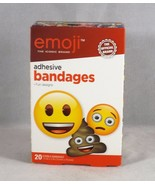 Aso Emoji 20 Sterile Adhesive Bandages - New - $4.74
