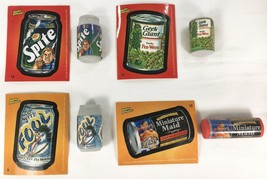 2011 WACKY PACKAGES Erasers Lot 4 w/ Stickers 9 11 15 19 Topps - $4.24