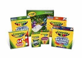 Crayola Drawing and Coloring Kit for Kids, Art Set, Gift, Ages 5, 6, 7, ... - $33.23