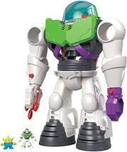 Toy Story Fisher-Price Imaginext 4 Buzz Lightyear (Buzz Lightyear Robot ... - $45.19