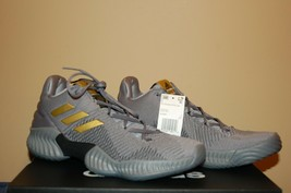 Men's Adidas Pro Bounce 2018 Low AH2683  size 9.5 Gray Training Running ... - $89.09