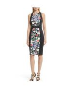 Ted Baker London Akva Kensington Floral Body-Con Dress, Black, 0 - $108.90