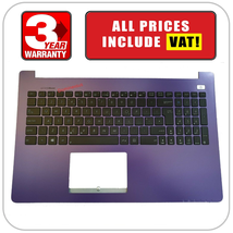 13NB00I4AP0501 Asus X502 X502C X502A X502U X502X X502CA PalmRest UK Keyb... - $38.54