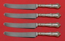 "Strasbourg by Gorham Sterling Silver Fruit Knife Set 4pc Custom Made 7"" HHWS - $279.00"