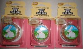 3 new yankee candle ultimate car jar air freshener vanilla cupcake LE - $10.00