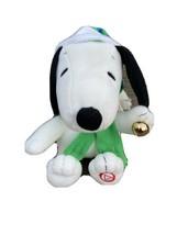 "Snoopy ""Jingle Bells"" 7"" Plush Toy Hallmark Peanuts 50 Years 2015 - $27.12"