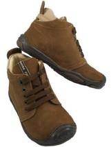 PRIMIGI Boys' SIMMON Lace up Tie Ankle Boots Brown Nubuck, Size US 5.5, ... - $24.74