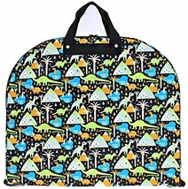 Dinosaur Print Boys Garment Bag Travel Luggage image 1