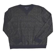 Inc International Concepts, Men's, Mixed-media Sweater, Deep Black, Sz. ... - $39.40