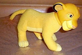 "Disney Lion King Simba Standing Plush & Vinyl 7"" Special By Applause - $8.29"