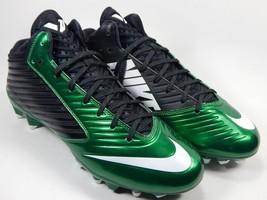 Nike Vapor Speed 3/4 Mid Men's Football Cleats Size 10 M EU 44 Green 643155-300