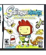 Nintendo DS -  Scribble Nauts - $10.00