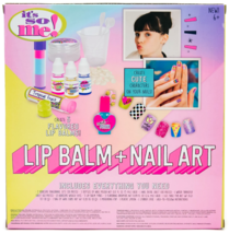 It's So Me Create Your Own Flavored Lip Balm + Cute Characters Nail Art Kit DIY image 4