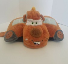 "DISNEY PIXAR Tow Mater Pillow Pets CARS Plush 12"" Pillow Toy SOFT - $15.88"