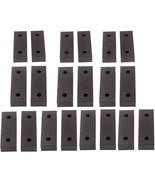"""6"""" x 2"""" x 1"""" Standard Aluminum Soft Jaws Set Fit for Kurt Chick Toolex - $154.00"""