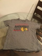 Chicago Blackhawks Gray NHL T-Shirt Medium Good Condition - $6.92