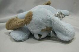 BEARINGTON STUFFED PLUSH BLUE BROWN SATIN PUPPY DOG PILLOW BABY - $49.49