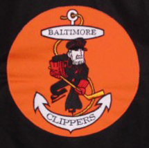 Custom Name # Baltimore Clippers Retro Hockey Jersey New Black Any Size image 3