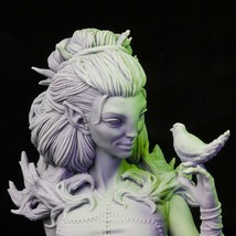 Forest - Girl - Bust - 3D - Printed HQ - Resin Miniature - Unpainted - Dungeons  - $19.99