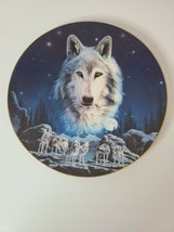 The Hamilton Collection Eyes Of The Night Wilderness Spirit Plate1994 No. 2790 E - $24.99