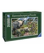 Ravensburger at The Waterhole - 18000 Piece Jigsaw Puzzle for Adults – S... - $117.88