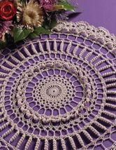 Z429 Crochet Pattern Only Curly Q Doily Pattern - $7.50