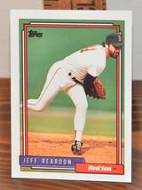 New Mint Topps trading card Baseball card 1992 Red Sox 182 Jeff Reardon - $1.48